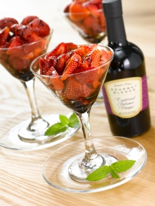 Iris' Strawberries with Traditional Balsamic Vinegar