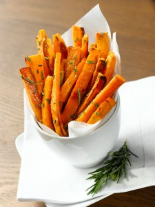 Iris and Ann's Roasted Sweet Potatoes with Rosemary-Olive-Oil